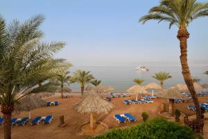 A view of the pool at Mövenpick Resort & Residences Aqaba or nearby