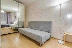 A seating area at Щёлковские квартиры - Фряновское шоссе 64к2