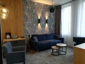 Część wypoczynkowa w obiekcie Hotel Szara Willa
