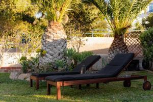 Κήπος έξω από το Marina's Paradise Summer House