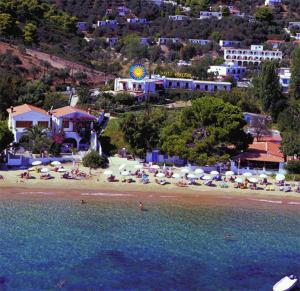 A bird's-eye view of Vontzos Hotel