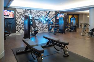 The fitness center and/or fitness facilities at The Stephen F Austin Royal Sonesta Hotel