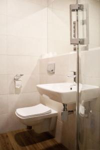 A bathroom at Hotel - Restauracja Koral