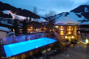 The swimming pool at or near Hotel Alpine Palace
