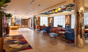 The lounge or bar area at Hard Rock Hotel Dublin