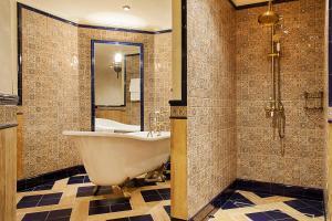 Ванная комната в Отель Богатырь