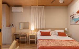 Cama o camas de una habitación en Magic Natura Resort