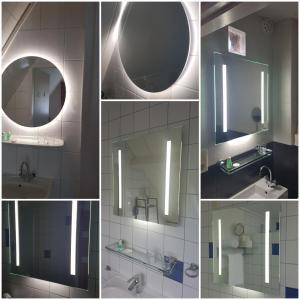 Een badkamer bij De Vier Seizoenen