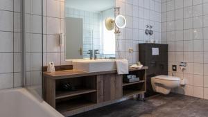 Ein Badezimmer in der Unterkunft Romantik Hotel Schubert
