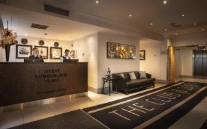 The lobby or reception area at Great Cumberland Place