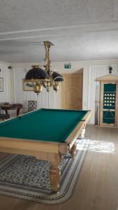 A pool table at Imantas nams