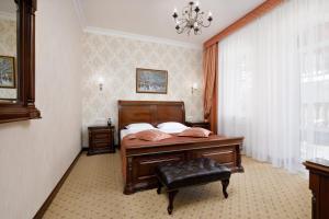 Кровать или кровати в номере Бристоль Спа Отель