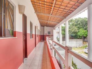 A balcony or terrace at Pousada Pepone - Fortaleza Centro