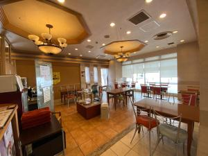 A restaurant or other place to eat at Koriyama View Hotel