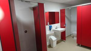 A bathroom at Zendoira