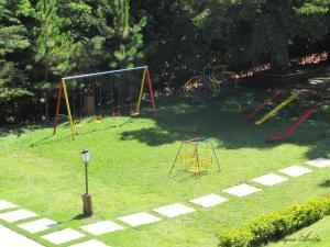 Parquinho infantil em Hotel Fazenda Topada