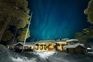 Wilderness Hotel Nellim & Igloos during the winter