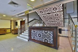 O saguão ou recepção de OYO 429 Hamsat Taiba Hotel