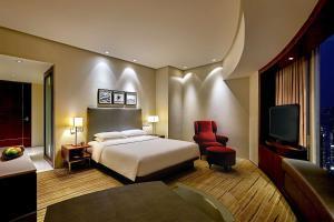 Cama o camas de una habitación en Hyatt Regency Hong Kong Tsim Sha Tsui