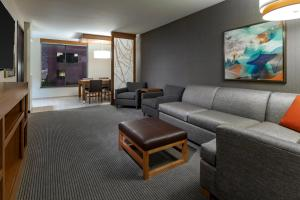 A seating area at Hyatt Place Provo