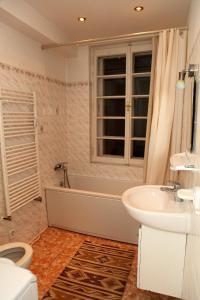 Koupelna v ubytování 7k - Apartmán Zámecký Vrch