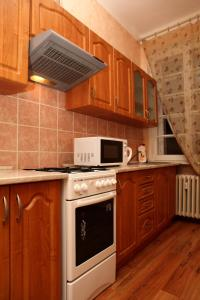 Kuchyň nebo kuchyňský kout v ubytování 7k - Apartmán Zámecký Vrch