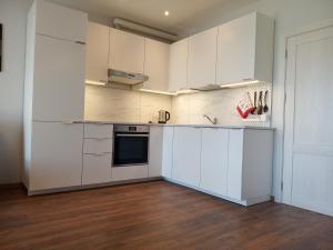 A kitchen or kitchenette at PL Studija