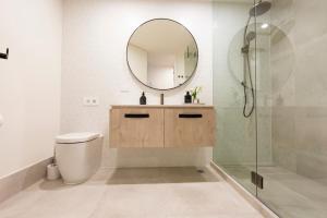A bathroom at Mt Buller Chalet Hotel & Suites