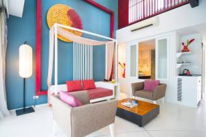 Гостиная зона в Red Ginger Chic Resort