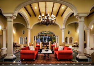The lobby or reception area at Casa Velas – Adults only