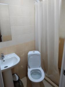 Ванная комната в Отель Аура