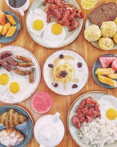 Breakfast options available to guests at Crimson Resort and Spa - Mactan Island, Cebu