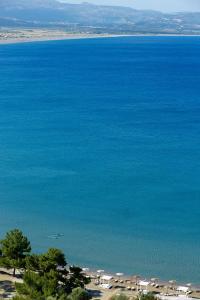 Havsutsikt från hotellet