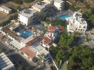 Majoituspaikan Pefkos Beach Studios & Apartments kuva ylhäältä päin