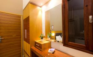 Kylpyhuone majoituspaikassa Pefkos Beach Studios & Apartments