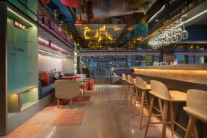 The lounge or bar area at CityNote Hotel Beijing Road Pedestrian Guangzhou