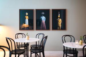 Een restaurant of ander eetgelegenheid bij Pillows Grand Boutique Hotel Reylof Ghent