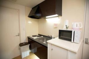 Haruyoshi Cuffe Studio / Vacation STAY 7314にあるキッチンまたは簡易キッチン