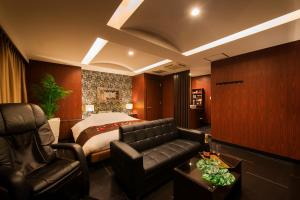 The lobby or reception area at Hotel CUE Machida(Adult Only)