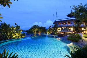 The swimming pool at or near Plataran Menjangan Resort and Spa