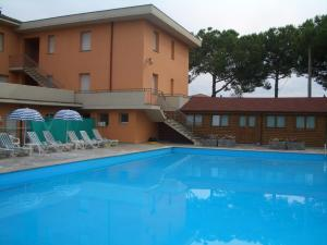 The swimming pool at or near Hotel Trasimeno