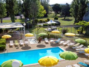 A view of the pool at ibis Styles Marseille Aéroport or nearby