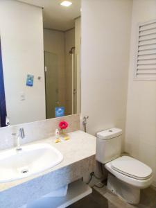 Ванная комната в Comfort Hotel & Suítes Rondonópolis