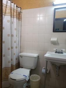 Un baño de Hotel Del Valle