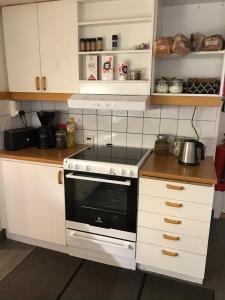A kitchen or kitchenette at Gävle Bed & Breakfast