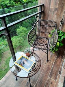 A balcony or terrace at Siang Tsao Yu Chong