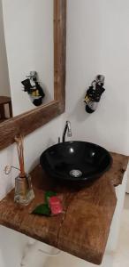 Um banheiro em Pousada Amor de Casa