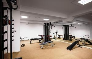 Spordikeskus ja/või sportimisvõimalused majutusasutuses Vile Oliva Hotel & Resort