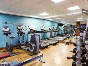 The fitness center and/or fitness facilities at Novotel London Waterloo