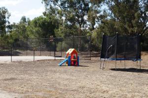Children's play area at Magdala Motor Lodge & Lakeside Restaurant